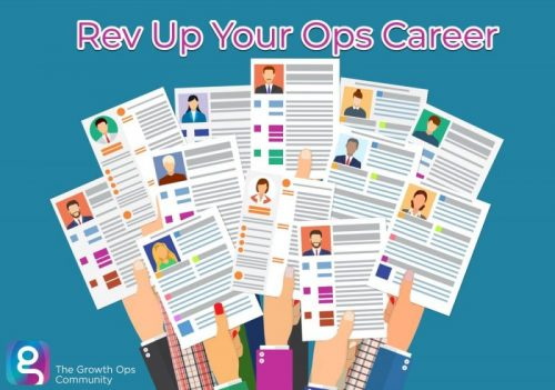 The Growth Ops Community Presents: Rev Up Your Ops Career